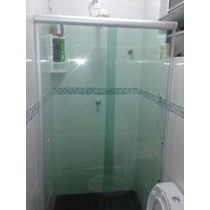 Box Banheiro Vidro Verde Ou Fume 1,60