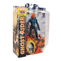 Motoqueir Fantasma Ghost Rider Marvel Select Figura Boneco