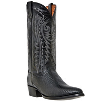 Dan Post Hombres Raleigh R Negro Lagarto Pie Boot Dp2350r