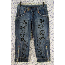 Calça Jeans 38 K2b Upcycled Lovely Lolla