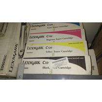 Toner Lexmark Color C720 Y C540 Nuevos Y Originales