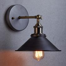 Lámpara De Pared Vintage Bulbo Edison Retro Industrial