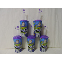Dulceros Toy Story Buzz Fiestas Vasos 10 Recuerdos Tapa