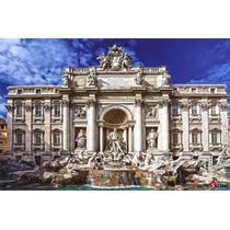 Rompecabezas Puzzle Fontana Di Trevi Tomax X1000 Piezas