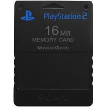 Memory Card 16mb Sony Ps2 Play Station Playstation 2 Memoria