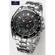 Relogio Casio Ediffice Red Bull