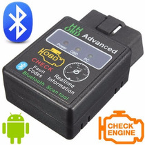 Obd2 Bluethooth Scanner Carro Diagnóstico Elm327 Hhobd @!1