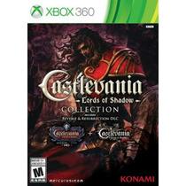 Castlevania Lord Of Shadow Collection Xbox 360 Disco Fisico