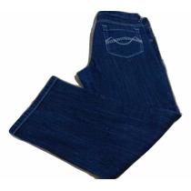 Jean Nena Azul Elastizado Mossimo Capri Importado