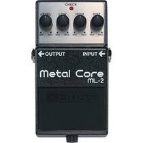 Pedal Boss Metal Core Ml-2, Somos Loja.