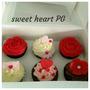 San Valentin Dia Enamorados Regalo Original Cupcake Y Cookie