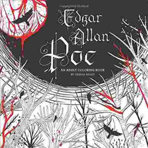 Libro Edgar Allan Poe: An Adult Coloring Book - Nuevo