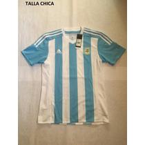 Playera Argentina Adidas Original Talla Chica