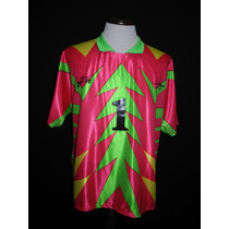 Inolvidable Camiseta Jorge Campos #1 Aca Sport Retro.