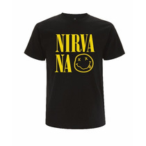 Franelas De Rock, The Beatles, Nirvana, R.stones
