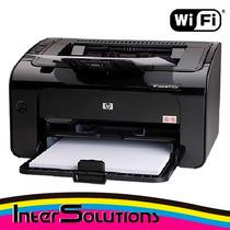 Impresora Laser Hp P1102w Wifi + Recarga Toner 85a Gratis