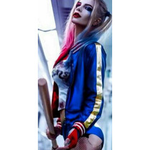 Suicide Squad Cosplay Campera + Remera Harley Quinn