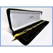 Pulsera Oro Amarillo Solido 14k Mod. Cartier De 7mm 16grs
