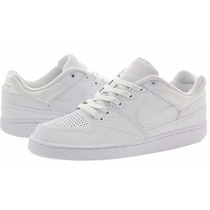 Zapatillas Nike Priority Low Sb Hombres Cuero 641894-111