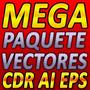 Vectores Mega Pack 11 Mil Diseños 13gb Sublimacion Eps Ai