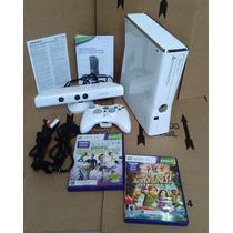 Xbox360slim-branco+kinect-colecionador-era1899,00!!