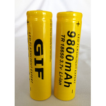 Bateria 18650 Pila Gif 9800 Mah Litio-ion 3.7v Recargable