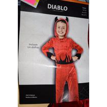 Disfraz De Niño , Diablo, Talla 12-14 Pastorela Hallowen