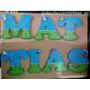 Letras Y Nombres En Mdf, Ideales Para Decorar Fiestas Y Mas