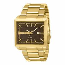 Relógio Lince Dourado Masculino (orient) Mqg4267s P1kx Wr 50