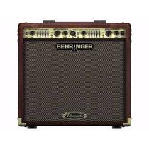Cubo Amplificador Behringer 110v Acx 450 Para Violão - Saldo