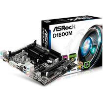 Asrock Combo Tarjeta Madre D1800m + Intel Dual Core J1800