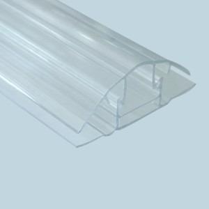 Perfil emenda click cristal policarbonato 6mts r 123 96 - Cristal policarbonato ...