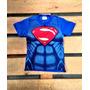 Superman Super Homem Heroi Camiseta Personalizada Infantil