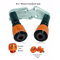 Kit Slider Procton Racing - Yamaha R3 Mt-03 Mt03 - 3 Peças