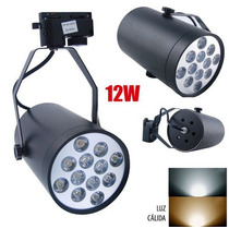Reflector Dimmeable Led Para Riel Track 12w
