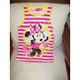 Aurojul-disney Minnie Mouse Orig.vestido Musculosa -brillos