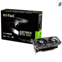 Placa Vga Nvidia Geforce Gtx 960 Zotac 4gb Envio Grátis