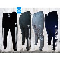 Pantalon Chupin Jogging Hombre Deportivo Adidas