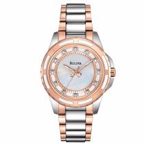 Reloj Bulova Diamond 98p134 Ghiberti