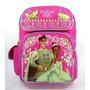 Morral Disney La Princesa Y El Sapo Rosado