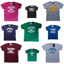 Camiseta Camisa Malha Hollister | Abercrombie | Aeropostale