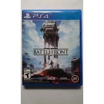 Ps4 Star Wars Battlefront $485 Pesos - Seminuevo - V / C