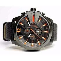 Relógio Diesel Dz4291 Couro Original Garantia Sedex Grátis