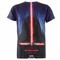 Playera De Star Wars 3d Kylo Ren The Force A. Y Darth Vader
