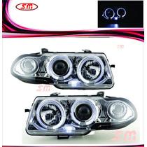 Farol Projector Angel Eyes Gm Astra 95/96/97 Cromado