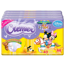 Fralda Cremer Disney Baby M 160 Unidades