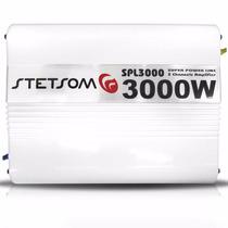 Módulo Stetsom Spl 3000 (03 Canais) 300 Wts Rms Mono/stereo