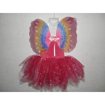 Nuevo Vestido Tutu Disfraz Hada Princesa Primavera Carnaval