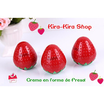 Kawaii Crema Aclaradora En Forma De Fresa