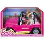 Barbie Auto De Playa Incluye Muñecos
